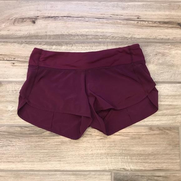 b680ba7459 lululemon athletica Shorts | Lululemon Speed Marvel Size 6 | Poshmark